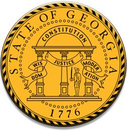 GEORGIA OJT STATE SEAL