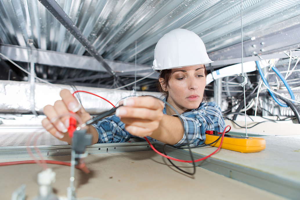 Female electrician apprenticeship