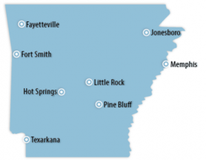 Arkansas Locations for Job Training
