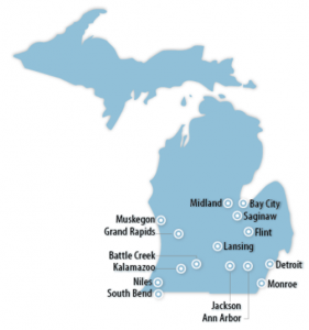 Michigan Locations for Job Training