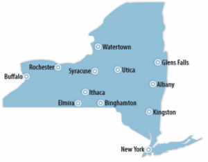 New York Locations for Job Training