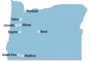 Oregon Locations for Job Training