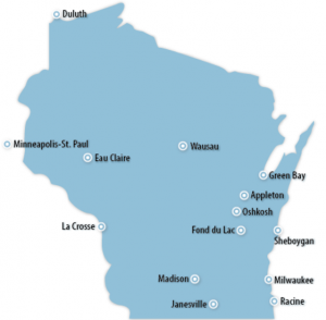 Wisconsin Locations for Job Training